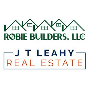 image of Robie Builders and JT Leahy logos